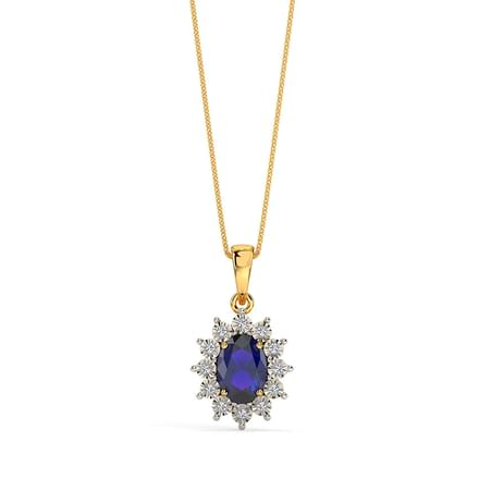 Buy Here Pay Here Ct >> Haze Royal Diamond Pendant Jewellery India Online - CaratLane.com