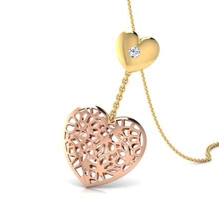 Gail Heart Link Pendant