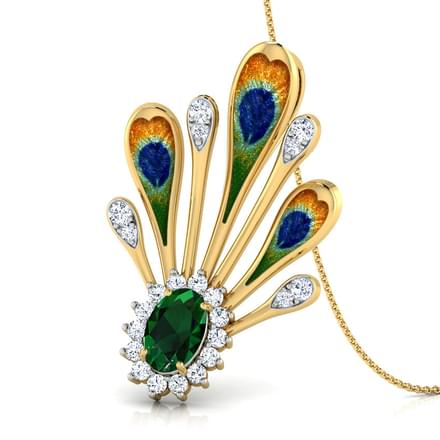 Supreme Peacock Pendant