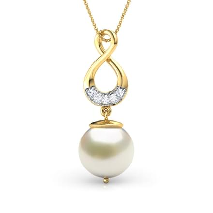 48 pearl pendants designs buy pearl pendants price rs 5867 infinity pearl pendant aloadofball Image collections