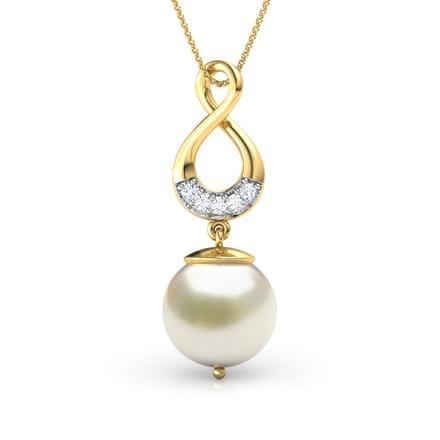 48 pearl pendants designs buy pearl pendants price rs 5230 infinity pearl pendant aloadofball Gallery