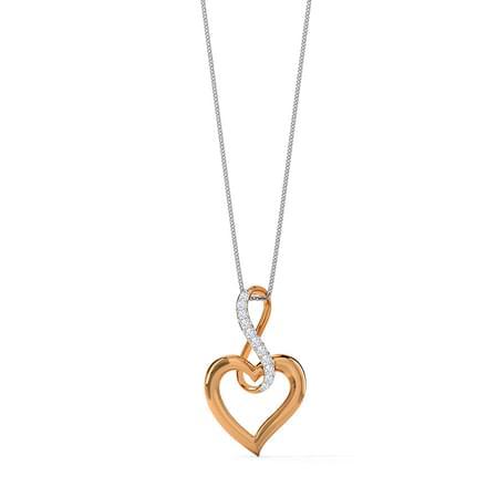 69706d023b Infinity Love Pendant Jewellery India Online - CaratLane.com