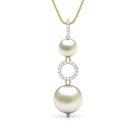 48 pearl pendants designs buy pearl pendants price rs 5867 hoop pearl pendant aloadofball Image collections