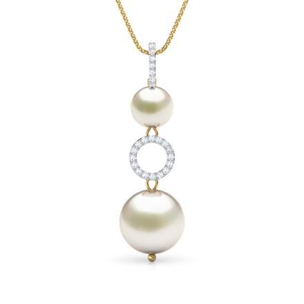 48 pearl pendants designs buy pearl pendants price rs 5230 hoop pearl pendant aloadofball Gallery
