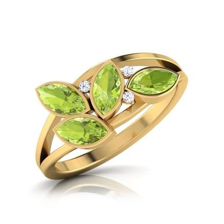 Leaf & Dew Ring