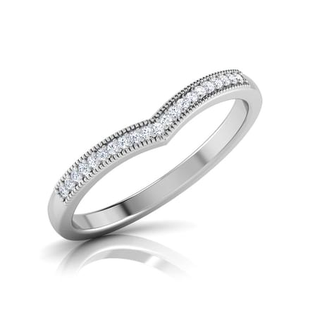 Crested Heart Ring