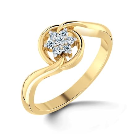 Imperia Gold Ring Jewellery India line CaratLane