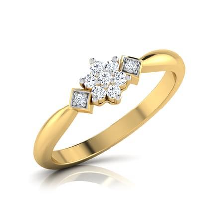 Sparkling Rose Ring