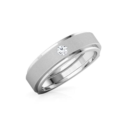 Delicado Diamond Ring for Him
