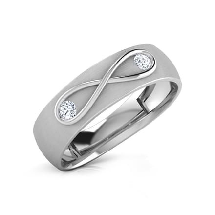 Infinity Diamond Ring for Her