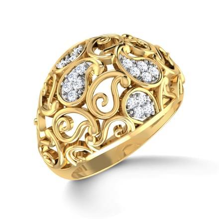 Laleh Paisley Ring