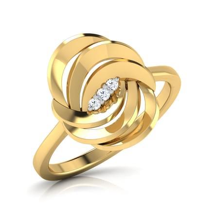 Spiral Fantasy Ring