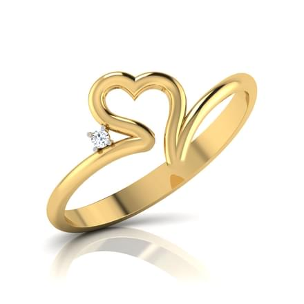 Soliel Heart Ring