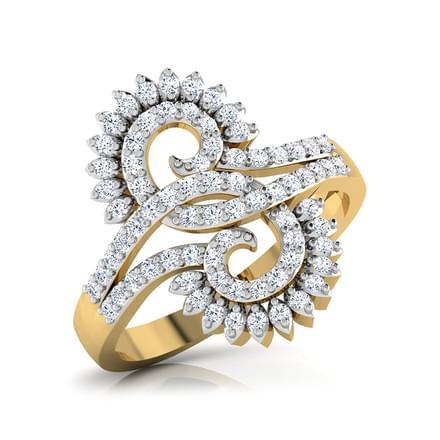 Grandeur 'S' Ring