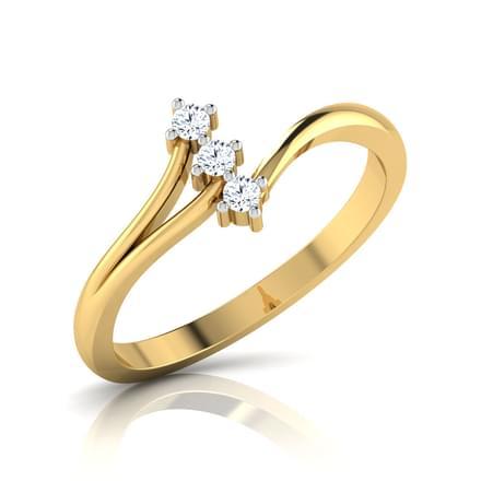 Camber Three-stone Ring