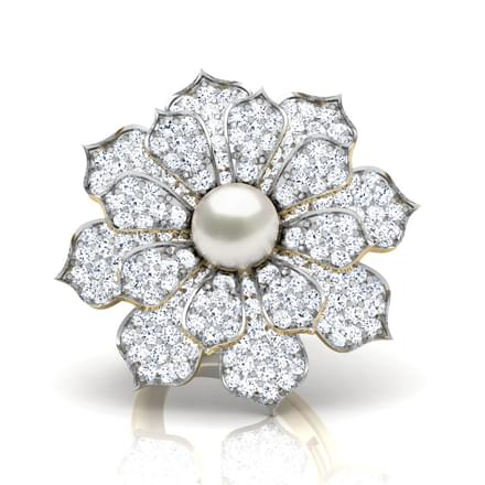 Hemera Pearl Layer Ring