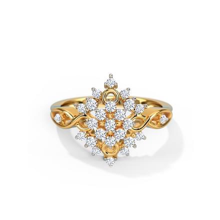 Phlox Diamond Ring