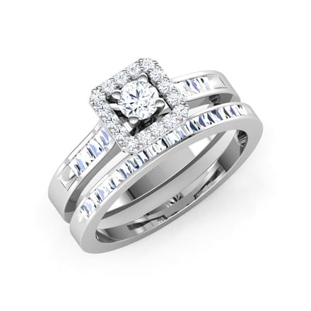 Sparkle Bridal Ring set