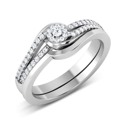 Elite Solitaire Bridal Ring Set