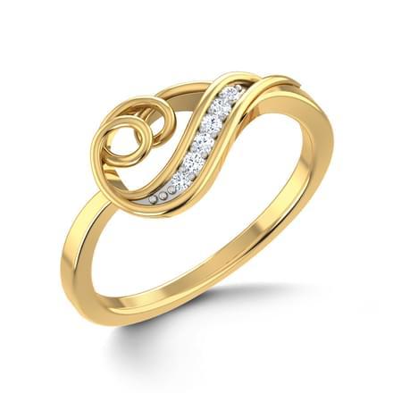 Twirl Tangle Ring