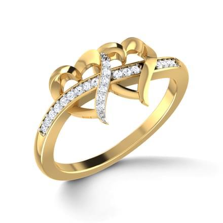 Locked Hearts Ring