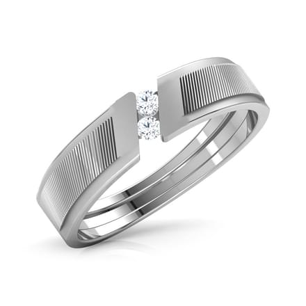 Darcy Platinum Ring for Him