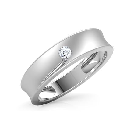 Suki Platinum Band for Her