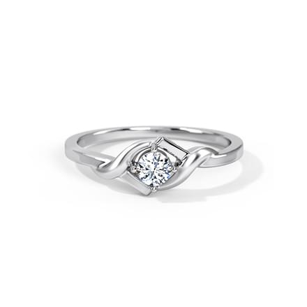 Love Song Platinum Ring