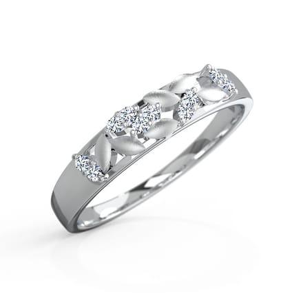 Zealous Platinum Ring