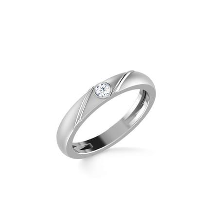 Robert Platinum Ring for Him