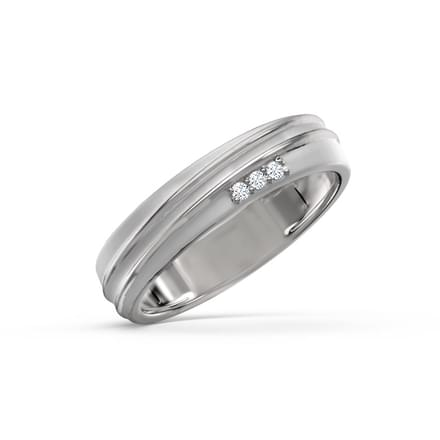 Calsita Platinum Ring for Women