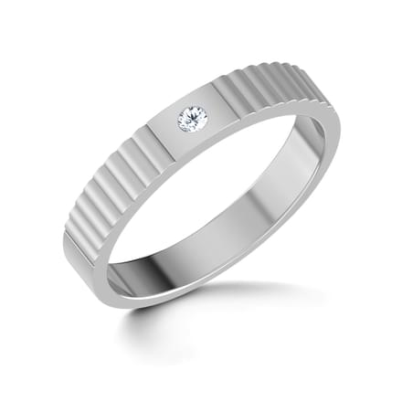 Wilma Platinum Band for Her