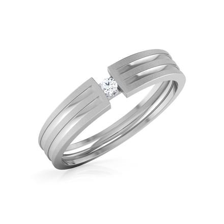 Leos Platinum Ring for Him