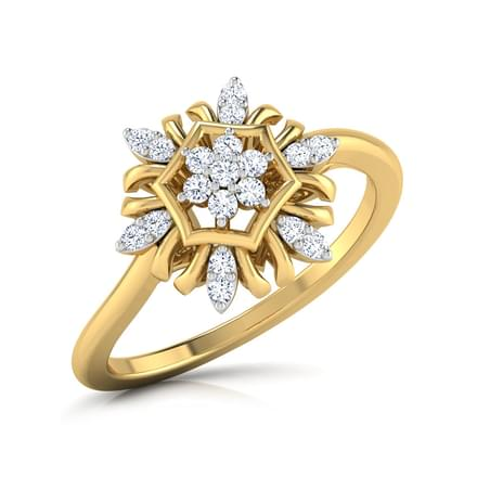 Floral Festive Ring