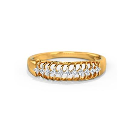 Elisa Braided Diamond Band
