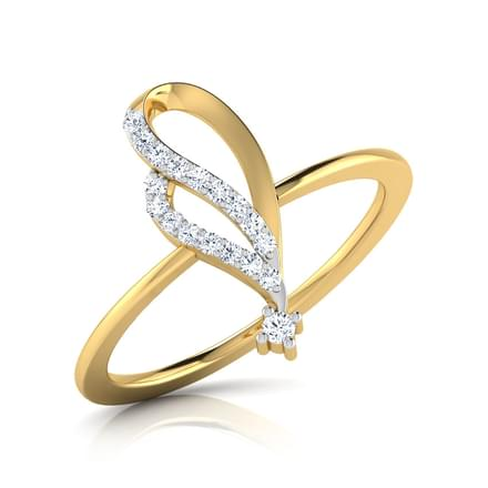Mia Curved Ring