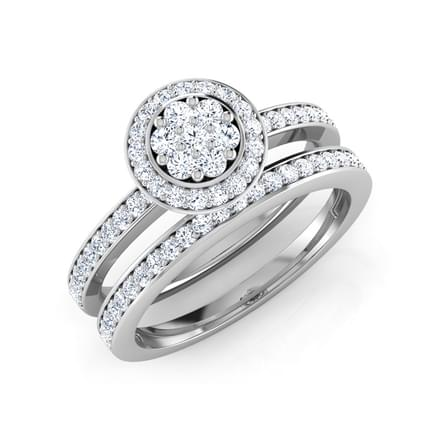 Lumia Bridal Ring Set