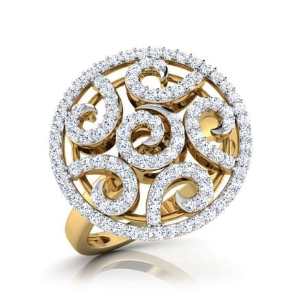 Spiral Swirl Ring