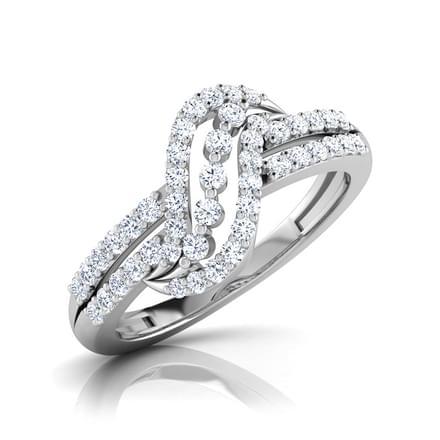 Glint Twirl Ring
