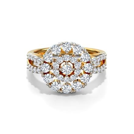 Diva Cluster Ring