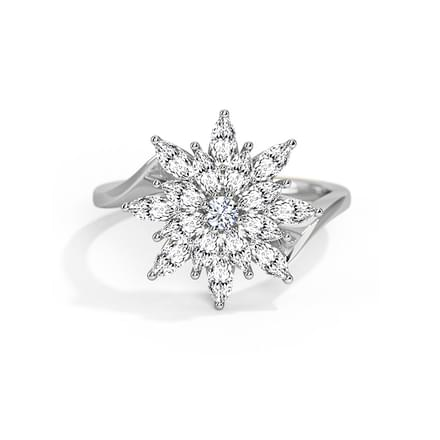Glint Flora Ring