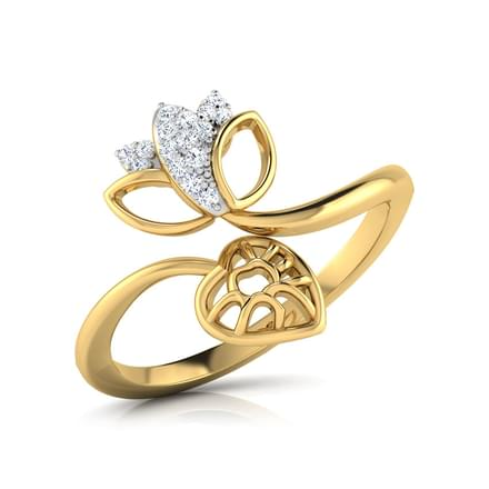 Budding Lotus Ring