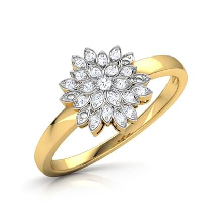 yellow ring rings gold marche catherine jewelry large with collection carat diamond fine collections jewellery stacking bespoke