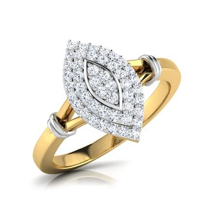 Kiri Marquis Cluster Ring