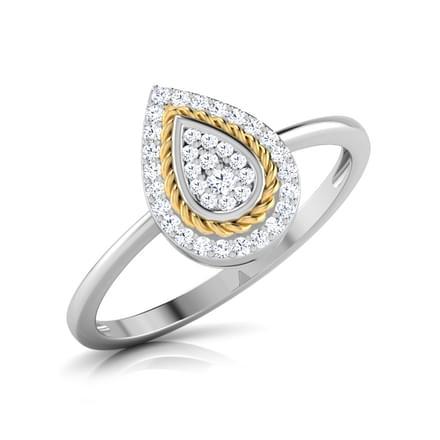 Olivia Filigree Pear Ring