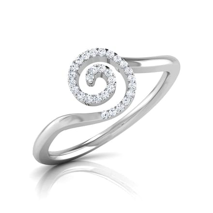 Ray Swirl Ring