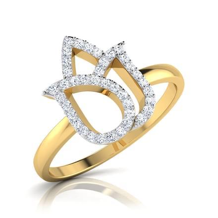 Padme  Lotus Bud Ring