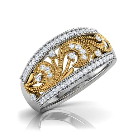 Lauren Milligrain Diamond Band