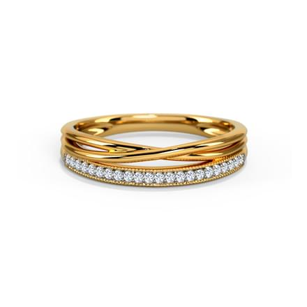 Maria Twist Diamond Band
