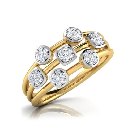 Karen Clusters Diamond Band
